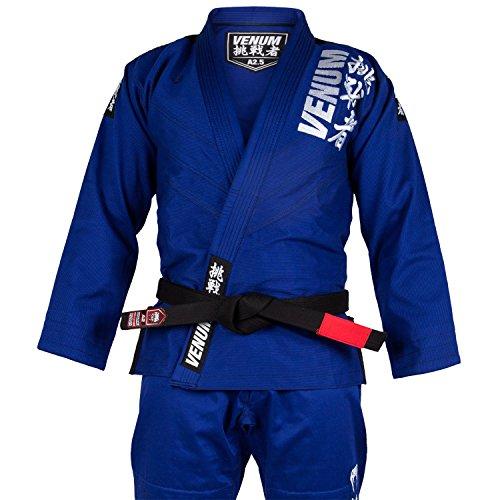Venum Challenger 4.0 BJJ Kimono, Hombre, Azul, A3 (L)