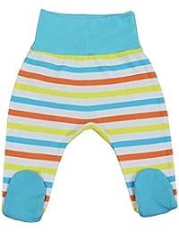 strampel Pantalones Algodón Universal Color Azul Para Niño Niño Pelele rayas 9003