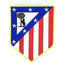 Parche Bordado Termoadhesivo Atletico de Madrid Escudo Antiguo 7 x 9 cm 39870a4b197b0