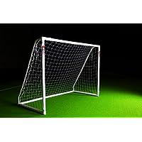 Fußballtor PRO 3 x 2 m aus wetterfestem uPVC von POWERSHOT® Mit Klicksystem und Zubehör