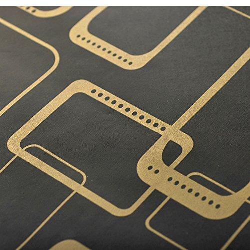 Zhzhco Pvc-Folie, Selbstklebend, Tapetenkleister Geprägte Tapeten Rustikales Schlafzimmer Wohnzimmer 45Cm*10M