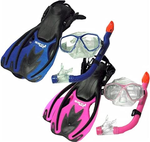 TBF Combo 3 Piece KIDS Set - Mask + Fins