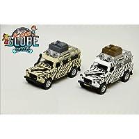 Speel Goed 510753-Easy to Play Models Diecast Car Land Rover Defender Safari Multi-Coloured
