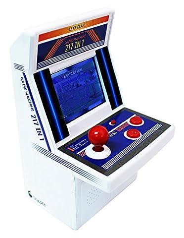 Snappi Mini Arcade Game Machine Toy Errichtet in den Spielen [217 Video Games] - series (Blau(Blue))
