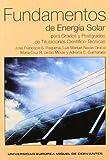 Fundamentos de energía solar para grados y postgrados de titulaciones científico-técnicas (Studium)
