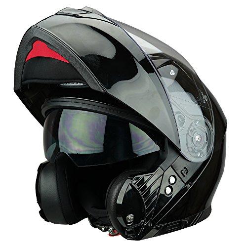 Casco de motocicleta Viper RSV445, casco abatible frontalmente, con sistma Pinlock® (antivaho)