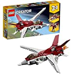 LEGO 31086 Creator 3in1 Futuristic Flyer Spaceship and Robot Building Set Vehicle Toys for Kids 7 Years Old and Older