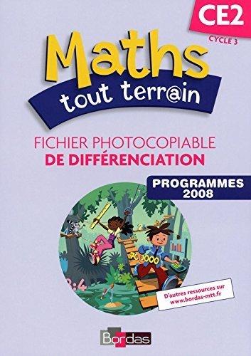 Maths tout terrain CE2 * Fichier photocopiable de différenciation de Alfred Errera (Series Editor) (7 juillet 2009) Broché