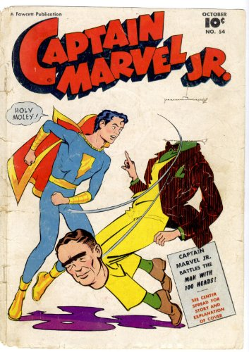 Captain Marvel Jr volume 54 Comic book: Illustrated (English Edition)