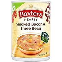 Baxters Tocino Abundante Y Tres De Frijol 400 Gramos De Sopa (Paquete de 6)