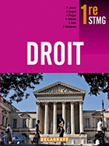 Droit STMG 1e : Livre de l'élève