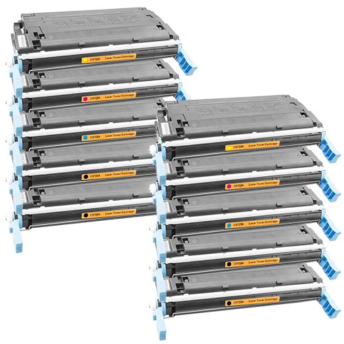 Tito-Express PlatinumSerie 10 Toner XXL für HP 4600 DN 4650 DN 4650 DTN 4650 HDN 4650 N Black Cyan Magenta Yellow C9720A - C9723A -