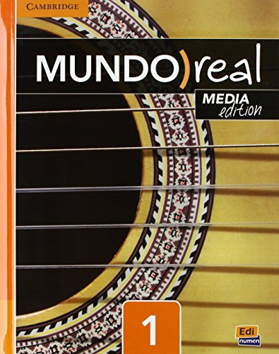 Mundo Real Media Edition Level 1 Value Pack (Student's Book plus ELEteca Access, Online Workbook Activation Card) 1-Year por Celia Meana