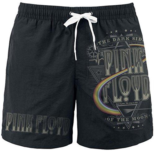 Pink Floyd Dark Side Badeshorts schwarz L