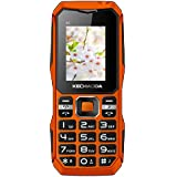 Kechaoda K6 Basic Feature Mobile Phone With DUAL SIM, 1.8 Inch Display, Auto Call Recording, FM Recording, 1800 MAh Battery, Expandable Memory, BLUETOOTH, VIBRATION, CAMERA, BIS CERTIFIED & 1 YEAR WARRANTY (BlackOrange)