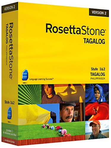 Rosetta Stone v2 Tagalog Level 1&2 Set (PC+MAC)
