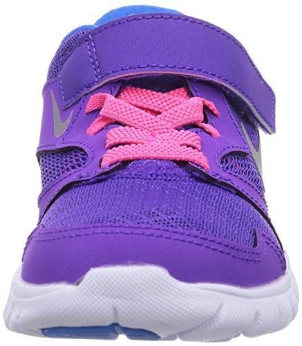 Nike Flex Experience 3, Chaussures de running fille Violet (Hypr Grp/Mtllc Slvr/Pht Bl/Hyp)