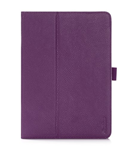 Preisvergleich Produktbild ProCase Apple iPad mini with Retina Display Case with bonus stylus pen - Flip Stand Leather Folio Cover for iPad mini 2 (2013) and iPad mini (2012) with Smart Cover Auto Sleep/Wake (Purple)