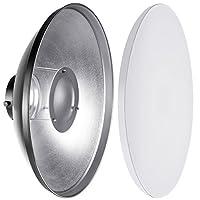 Description:    Le beauty dish utilise un réflecteur parabolique pour distribuer la lumière vers un point focal. La lumière créée est entre celle d'un flash direct et d'une softbox, donnant à l'image un aspect enveloppé, contrasté, qui ajoute un e...