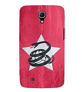 Snake Football Hard Polycarbonate Designer Back Case Cover for Samsung Galaxy Mega 6.3 I9200 :: Samsung Galaxy Mega 6.3 Sgh-I527