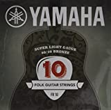 Yamaha FB 10 Westerngitarrensaiten 80/20 Bronze Light (1er Set)