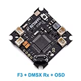 BETAFPV F3 Brushed Flight Controller Integrated with OSD and DSMX Receiver for Tiny Whoop Drone Racing Micro Drone
