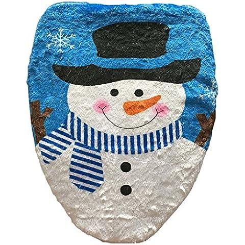 Decorazioni di Natale XJoel sede cover cover cover toilette toilette singola