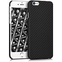 kalibri Hülle für Apple iPhone 6/6S - Handy Schutzhülle - Backcover Aramid Cover Schwarz