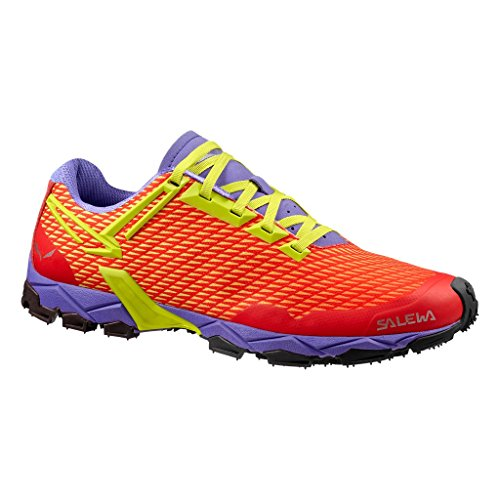 Salewa Lite Train-Bergschuh Damen Outdoor Fitnessschuhe, Rot (Hot Coral/Citro 1666), 41 EU