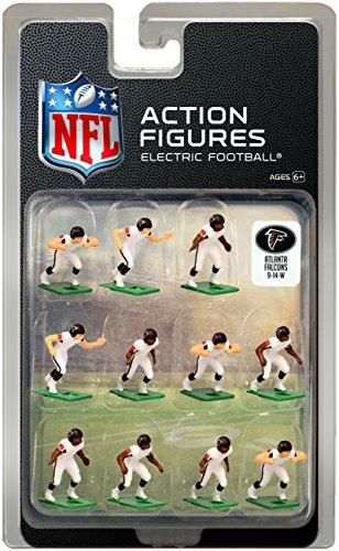 Atlanta Falcons?White Uniform NFL Action Figure Set by Tudor Games