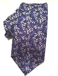 Duchamp Micro Floral Silk Tie