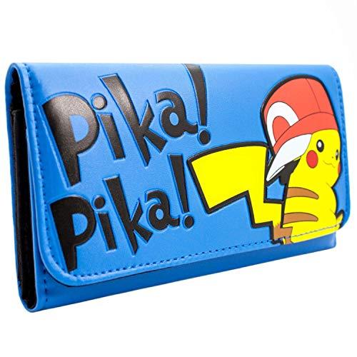 Kostüm Pokemon Pikachu Videospiel - Nintendo Pokemon Pikachu Blau Portemonnaie Geldbörse