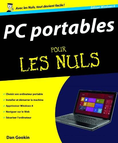 PC Portables, ed Windows 8 Pour les Nuls