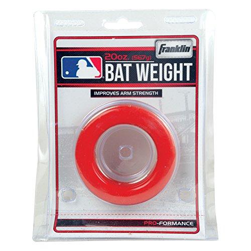 Franklin Sports Baseball Bat 20oz Ounce 1.25 Pound Weight Batting Swing Donut Test