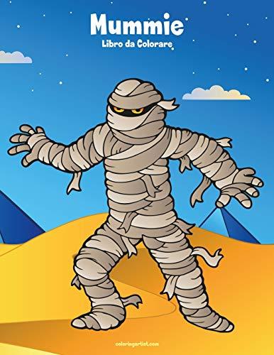 Mummie Libro da Colorare 1 (Di Mummie Halloween)