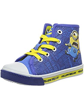 MINIONS Jungen Boys Kids High Sneakers Top
