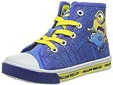 MINIONSBoys Kids High Sneakers - Zapatillas Niños, Color Azul, Talla 30