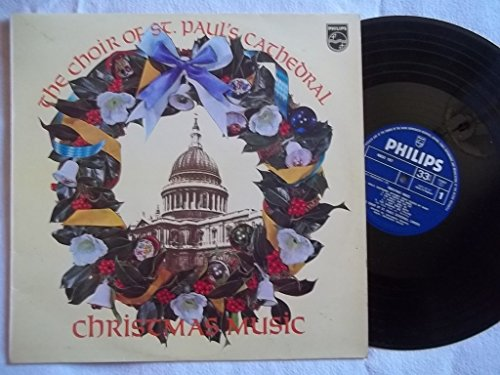 6833 157 CHOIR OF ST PAUL'S CATHEDRAL Christmas Music vinyl LP