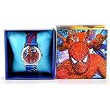Reloj de muñeca Boys SPIDERMAN en caja de regalo cumpleaños infantiles