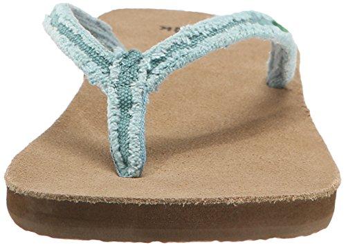 Sanuk Sanuk Slim Fraidy Sandals Women Dust Blue