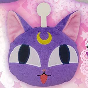 Sailor Moon reel with Plush Mascot path case Luna P ball separately Prize