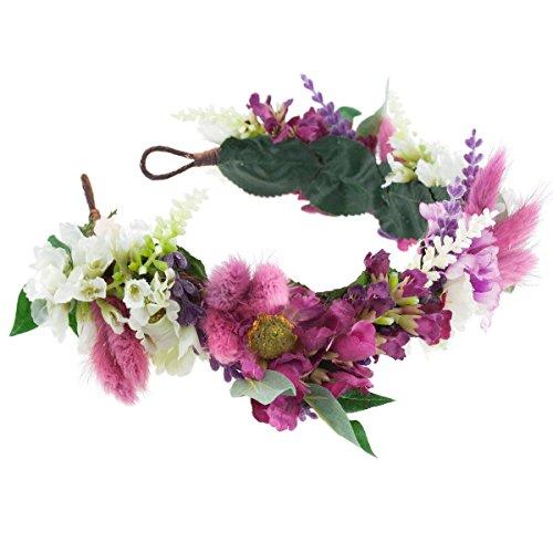 Taylor Floral Meadow Crown Headband