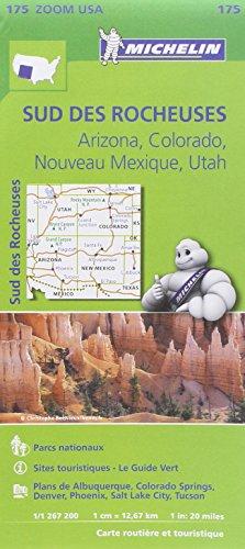 Descargar Libro Carte Sud des rocheuses Michelin de Collectif MICHELIN