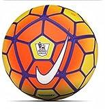 #5: Nike Larjonna Strike Sports Soccer SC2729-790 (Yellow) Replica Football, Size 5