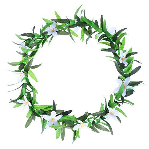 OULII-Hawaiian-Luau-Party-Leis-collar-simulado-Phalaenopsis-flores-de-verano-coronas-guirnaldas-para-Tropical-Beach-Theme-Party-Favors-flores-blancas