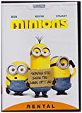 MINIONS DVD RENTAL EXCLUSIVE NEW