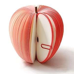 Apple Rouge de Fruits et Légumes 3D Memo Bloc-notes Post Il tampons DIY Parti Note Papeterie cadeau