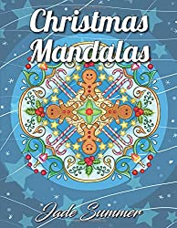 Christmas Mandalas: An Adult Coloring Book with Fun, Easy, and Relaxing Coloring Pages for Christmas Lovers