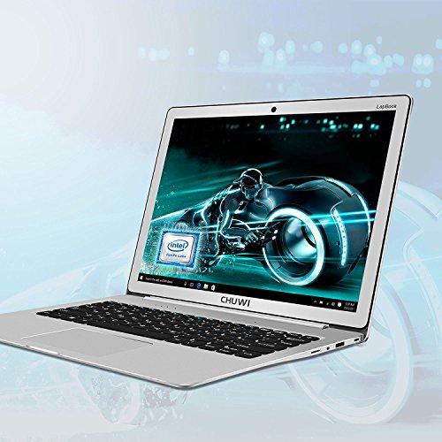 CHUWI Portatile Notebook Lapbook Laptop 12.3 Pollices Windows 10 Intel Apollo Lake N3450 Fino a 2,2 GHz Quad Core 2736 X 1824FHD 6GB RAM 64 GB ROM 64bit Batteria da 9000mAh WIFI - Argento