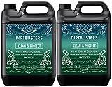 Dirtbusters–Reinigungsmittel (2x 5l) zum Reinigen von Teppichen Wolle. Betrifft nicht die Farben, geruchsneutralisierend Haustier.